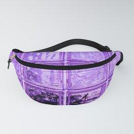 Purple window. Fanny Pack