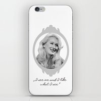 ashton irwin iPhone & iPod Skins featuring Madeline Ashton- Death Becomes Her/ Meryl Streep by BeeJL