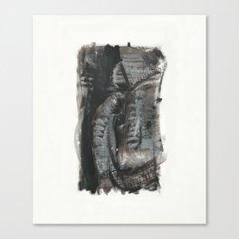 Black fantasy Canvas Print
