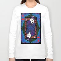 selena gomez Long Sleeve T-shirts featuring Gomez. The King Of Hearts. by brett66