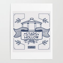 Stars Hollow Tourism Committee Poster