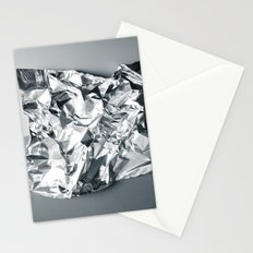 Gray foil Stationery Cards