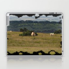 Wild Ponys in Cornwall Laptop & iPad Skin