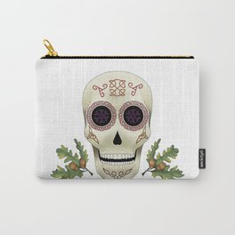 Knotwork Skull Carry-All Pouch