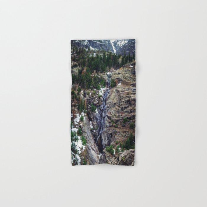 Mountain Pano Hand & Bath Towel