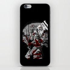 Zombie Rush (Gray Tone Version) iPhone & iPod Skin