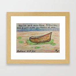 FISHER OF MEN Framed Art Print