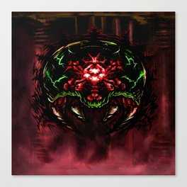 Super Metroid: Angry Baby Canvas Print