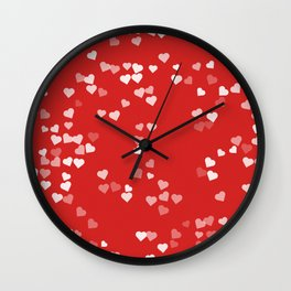 Hearts for Love Wall Clock