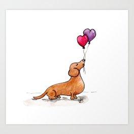 Boba Love Art Print