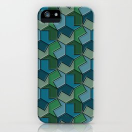 Geometrix 166 iPhone Case