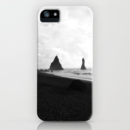 Black and White Vik iPhone Case