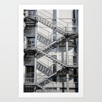 school Art Prints featuring school by Diogo Andrade