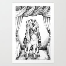 Haunted Clothing- The Coat of a Thousand Young Art Print
