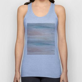 Sea breeze, acrylic on canvas Unisex Tank Top
