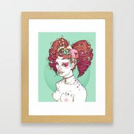 Sugar high Framed Art Print
