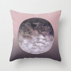 Quaoar gradient Throw Pillow