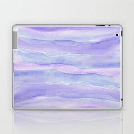 Ultra Violet Watercolor Layers Laptop & iPad Skin