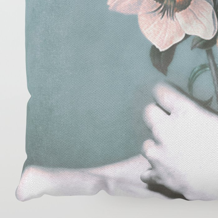 inner garden 3 Floor Pillow