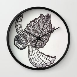 The Voyage of the Leatherback Wall Clock