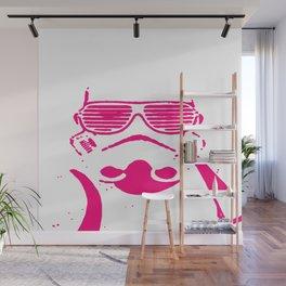 Pink Trooper Wall Mural