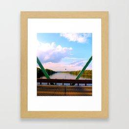 #HotAirBalloon #NewHope #Pennsylvania #Lambertville  #NewJersey  Framed Art Print