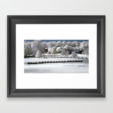 Life Near the Country Framed Art Print