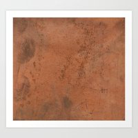 copper Art Prints featuring copper by motyka