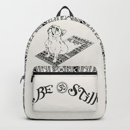 Be Still French Bulldog Backpack