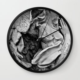 Angel profile Wall Clock