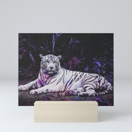 Tiger Tiger Burning Bright Mini Art Print