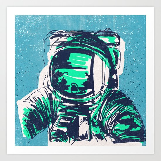 OrbitalFleets Crew Series: No.1 Art Print