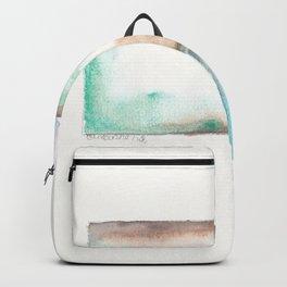 180914 Minimalist Geometric Watercolor 6 Backpack