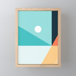 Geometric 1710 Framed Mini Art Print