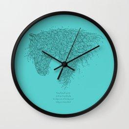 Horsey Tosca Wall Clock