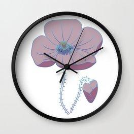 The Poppy Wall Clock