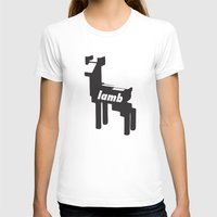 lamb T-shirts featuring LAMB by MDRMDRMDR