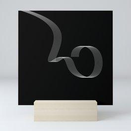 Geometric abstract art Mini Art Print