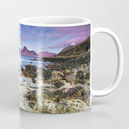 Beach Scene - Mountains, Water, Waves, Rocks - Isle of Skye, UK Coffee Mug