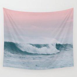 Pale ocean Wall Tapestry