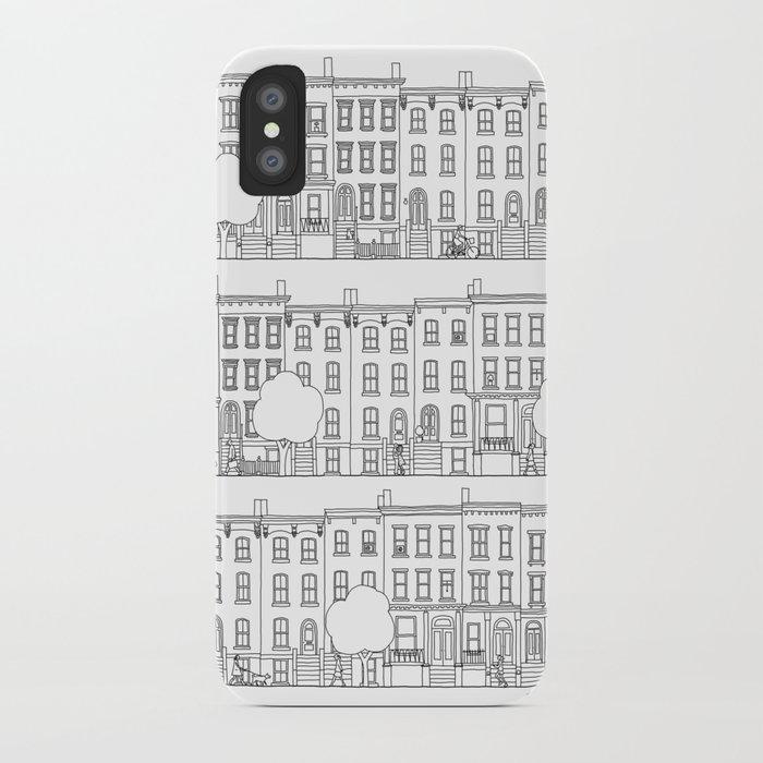 blocks of Brooklyn iPhone Case