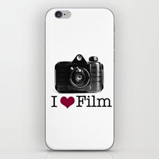 I ♥ Film iPhone & iPod Skin