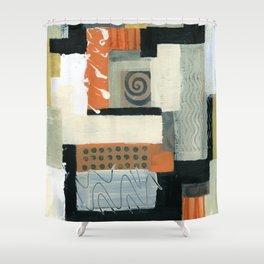 Urban Quilt Shower Curtain