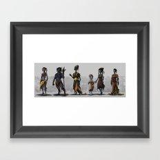 Alien Fantasy Race Framed Art Print