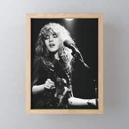 Stevie Nicks Music Poster Canvas Wall Art Home Decor, No Frame Framed Mini Art Print