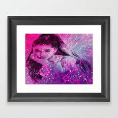 The Goddess of Music Framed Art Print
