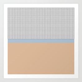 Grid 4 Art Print