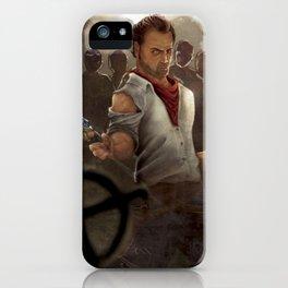 Stepehen King gunslinger iPhone Case
