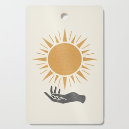 Sunburst Hand Cutting Board
