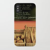 bread iPhone & iPod Cases featuring Bread by Stacey P Keating